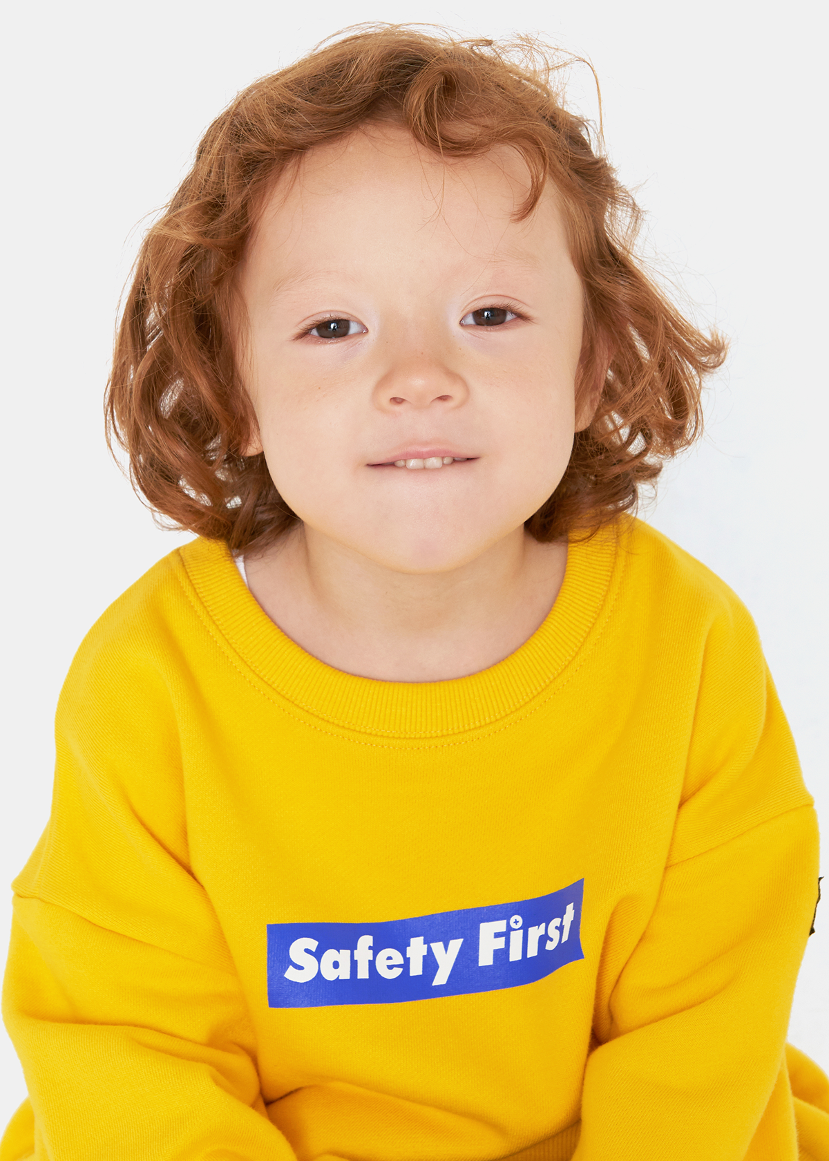 [8차재입고완료]SAFETY FIRST SWEATSHIRT-YELLOW